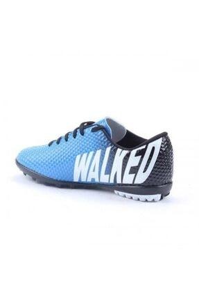 Walked Erkek Mavi Halısaha Futbol Spor Ayakkabı 3