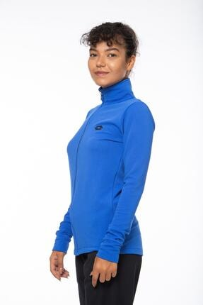 Lotto Sweatshirt Kadın Saks Mavi-lacivert-ottoman Sweat Fz Pl W-r9653 2
