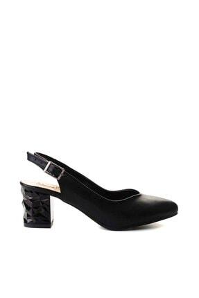 Bambi Siyah Kadın Klasik Topuklu Ayakkabı K01688071109 1