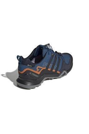 adidas Erkek Lacivert Outdoor Ayakkabısı - Terrex Swift R2 Gore-Tex- G26553 2