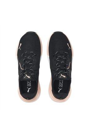 Puma PLATINUM METALLIC WNS Siyah Kadın Koşu Ayakkabısı 101085421 4