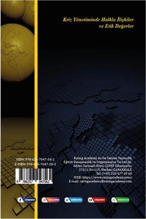 Rating Academy Yayınları Kriz Yönetiminde Halkla Ilişkiler Ve Etik Değerler 1