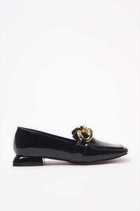 Yaya by Hotiç Siyah Kadın Loafer Ayakkabı 01AYY206450A100 1