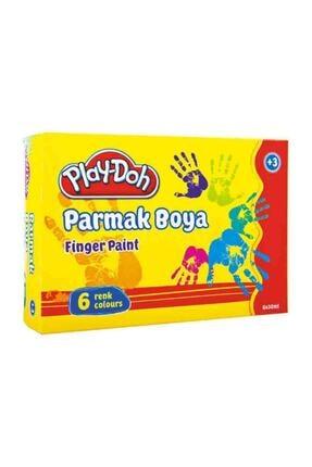 Play Doh Parmak Boyası 6 Renk X 30 ml. 0
