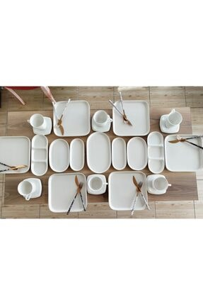 Seha Beyaz Seri Kahvaltı Takımı 4
