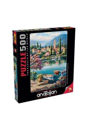 Anatolian Puzzle Gölde Akşamüstü Puzzle 0