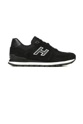 Hammer Jack Erkek Siyah Hakiki Deri Ayakkabı 0