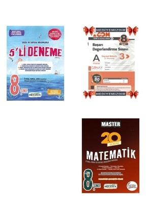 Okyanus Yayınları 8.sınıf Lgs 5'li Deneme+ Master Matematik 0
