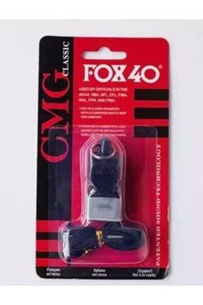Fox 40 Siyah, Classic Düdük, Ağızlık Ve Boyun Ipi Hediyeli, Kutusunda 0