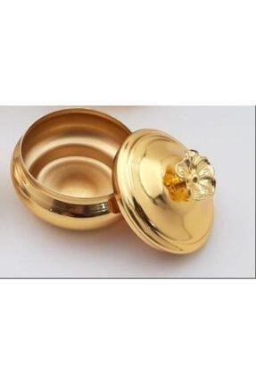 HELVACIOĞLU AKSESUAR Hlv Kapaklı Lokumluk Gold 0