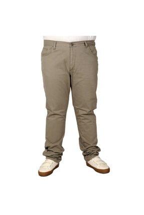 Picture of Büyük Beden Erkek Gabardin Pantolon 21001 Bej