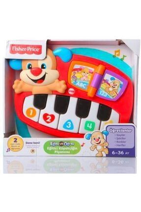 Fisher Price Eğitici Köpekçiğin Piyanosu Türkçe Kırmızı DLK19 0
