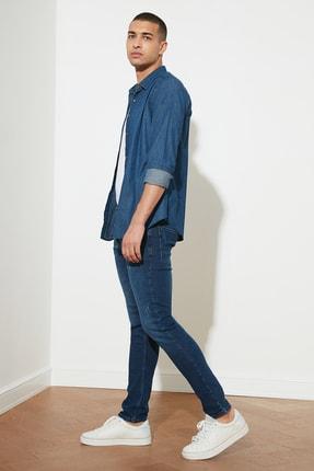TRENDYOL MAN Mavi Erkek Skinny Jeans TMNAW20JE0403 1