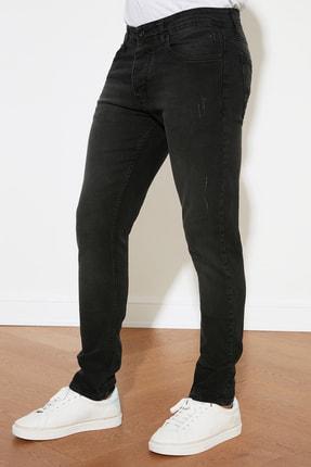 TRENDYOL MAN Siyah Erkek Skinny Jeans TMNAW20JE0405 3