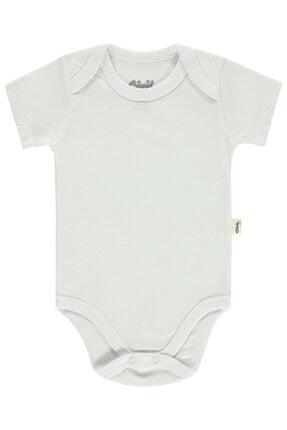 Civil Baby Bebek Çıtçıtlı Badi 0-24 Ay Ekru 0