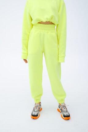 Fineapple Neon Sarı Eşofman Alt 1