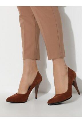 ayakkabıhavuzu Kadın Taba Topuklu Ayakkabı 1