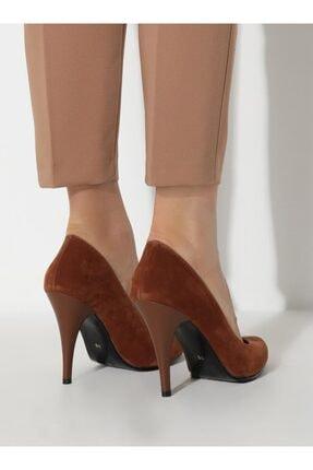 ayakkabıhavuzu Kadın Taba Topuklu Ayakkabı 3