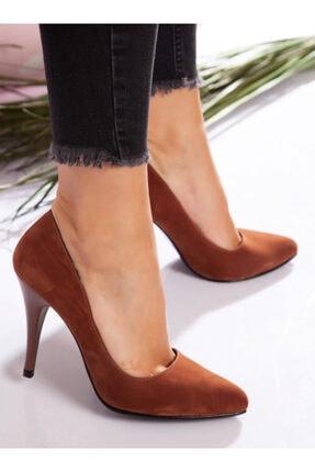 ayakkabıhavuzu Kadın Taba Topuklu Ayakkabı 4