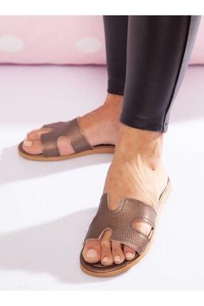 ayakkabıhavuzu Kadın Bakır Terlik 1
