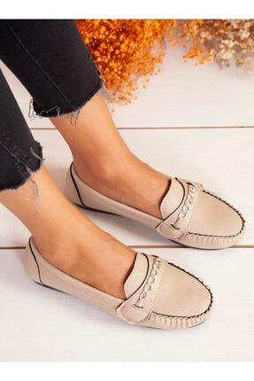 ayakkabıhavuzu Kadın Bej Günlük Ayakkabı 0