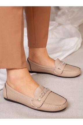 ayakkabıhavuzu Kadın Bej Günlük Ayakkabı 1