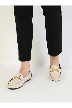 ayakkabıhavuzu Kadın Krem Günlük Ayakkabı 4