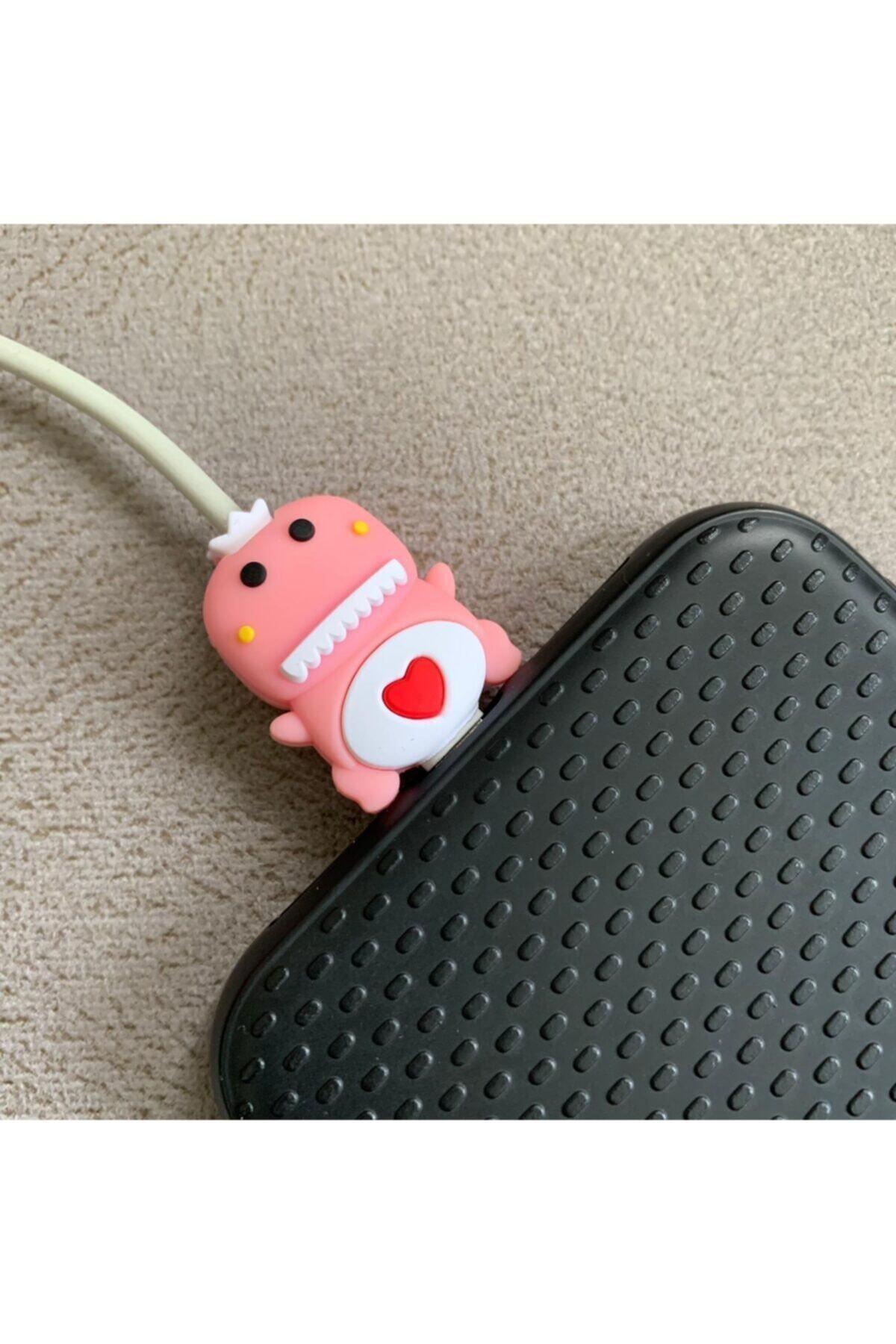 Sevimli Silikon Kablo Koruyucu