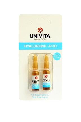 Univita Hyaluronic Acid Cilt Bakım Serumu 2+2 ml 0