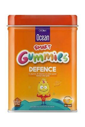 Ocean Smart Gummies Defence C Vitamini , D3 Vitamini Ve Çinko Içeren Takviye Edici Gıda 64 Jel Tablet 0