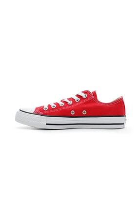 Converse Unisex Kırmızı Chuck Taylor All Star Sneaker 2