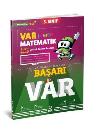 Arı Yayıncılık 3. Sınıf Matematik Junior Var Soru Bankası 0