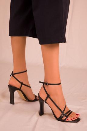 Soho Exclusive Siyah Kadın Klasik Topuklu Ayakkabı 15859 2