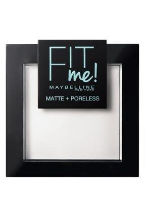 Maybelline New York Fit Me Matte+poreless Pudra - 90 Translucent (Transparan) 0