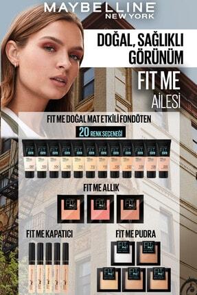 Maybelline New York Fit Me Matte+poreless Pudra - 90 Translucent (Transparan) 3