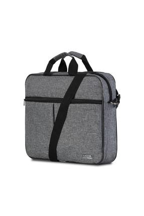 Classone Gri 15,6 inç Uyumlu Laptop Notebook El Çantası BND304 2