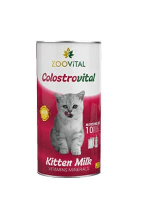 Zoovital Colostrovital Yavru Kedi Süt Tozu Ek Besin Takviyesi 200 gr 2