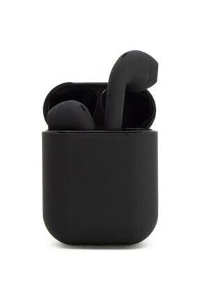 TrkTech Airpods  I12 Siyah Tüm Telefonlar İle Uyumlu Bluetooth Kulaklık 0