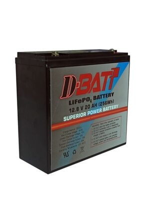 Dbatt 12v 20ah Lifepo4 Lityum Akü D-batt 2