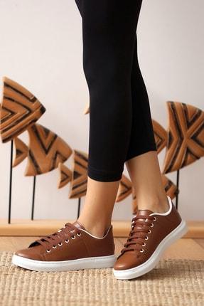 Pembe Potin Kadın Taba Casual Ayakkabı 0