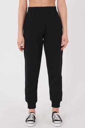 Addax Kadın Siyah Cep Detaylı Eşofman Eşf1077 - Dk2 ADX-0000023186 0