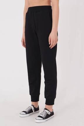 Addax Kadın Siyah Cep Detaylı Eşofman Eşf1077 - Dk2 ADX-0000023186 4