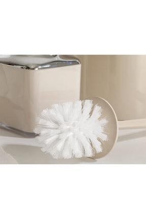 English Home Elegance Kristal 2'li Banyo Takımı 19x21,5 Cm+10x10x37 Cm Bej 2
