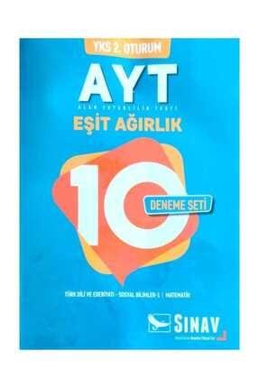Sınav Yayınları Yks 2oturum Ayt Eşit Ağırlık 10 Deneme Seti 0