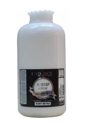 Cadence Boya Beyaz Hybrid Multisurface Akrilik Boya 2  lt H-001 0