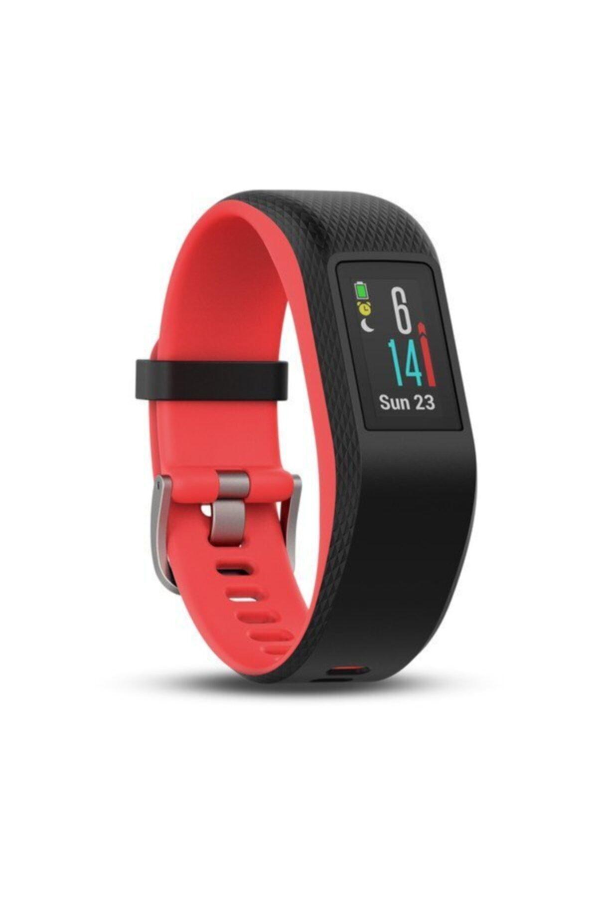 Garmin Vivosport GPS'li Akıllı Bileklik - Fuşya