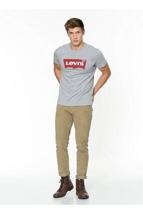 Levi's Erkek Gri Pamuklu T-Shirt 17783-0138 1