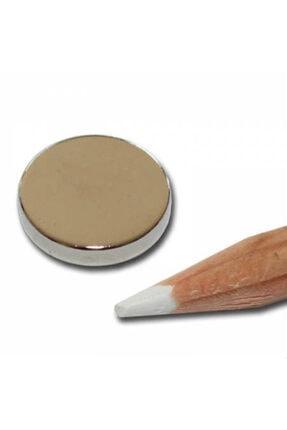 Dünya Magnet 10 Adet Çap 15mm x Kalınlık 3mm Yuvarlak Süper Güçlü Neodyum Mıknatıs 1