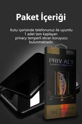 sepetzy Samsung Galaxy M51 Uyumlu Tam Kaplayan Privacy Hayalet Cam Ekran Koruyucu 1
