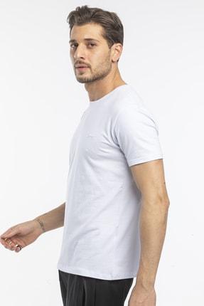 Slazenger Sannı Erkek T-shirt Beyaz St11te122 1